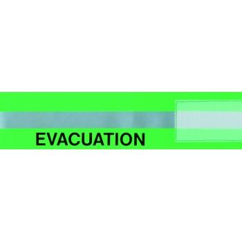 Materiel professionnel : BRASSARD EVACUATION HAUTE VISIBILIT2