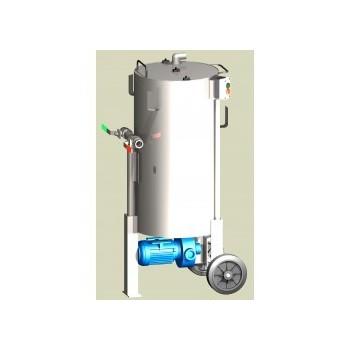 Cuve de brassage pompe et mélangeur Phytomel 100 litres