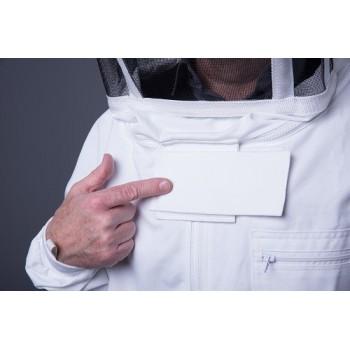 Fermeture à double ruban auto-agrippant et anti-intrusion avec coutures hautes résistance